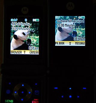 TracFone W376g and W260g screens