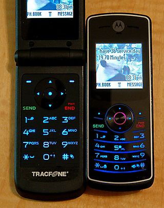 TracFone W260g and W175 keypad comparison
