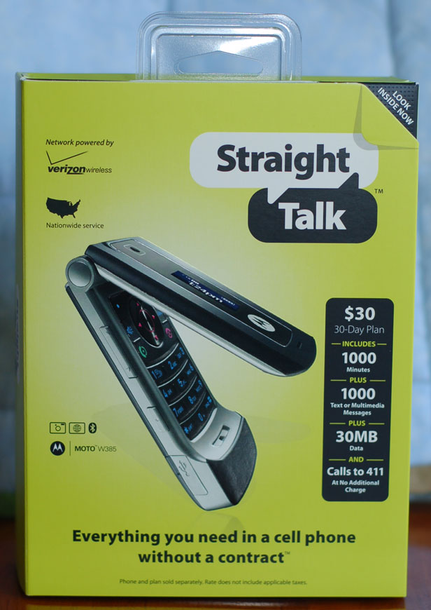 Wall Mart Introduces Straight Talk Cell Phone Plans