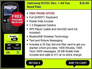 Straight Talk Samsung R355C Review - The Fone-Review com