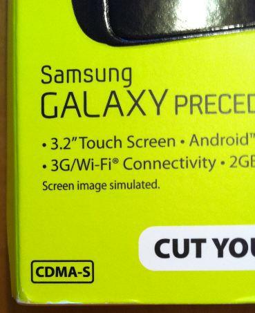 Straight Talk Samsung Galaxy Precedent CMDA-S