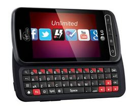 Virgin Mobile LG Optimus Slider