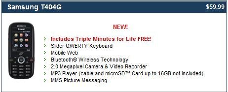 TracFone Triple Minutes For Life - The Fone-Review com