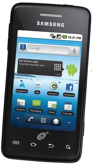 Straight Talk Samsung Galaxy Precedent Front