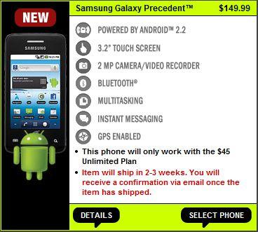 Straight Talk Samsung Galaxy Preorder