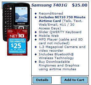 Net10 Free Phone